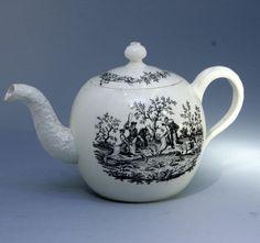 antique teapots | 18TH CENTURY WEDGWOOD CREAMWARE TEAPOT by WEDGWOOD - Antique ...