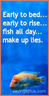 Fishing Sayings, Quotes and Slogans