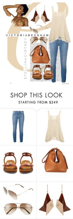 """stella/victoria neutrals collab"" by skylovessave ❤ liked on Polyvore featuring Victoria Beckham and STELLA McCARTNEY"