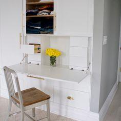 Hidden Desk Design Ideas, Pictures, Remodel and Decor