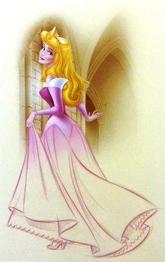Aurora by Pedro Astudillo - Sleeping Beauty (The Art of the Disney Princess)