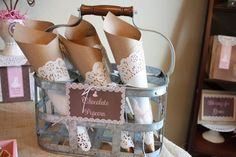 Shabby Chic Table Centerpieces | Shabby Chic First Communion {Birthday Party Inspiration} - Kara's ...