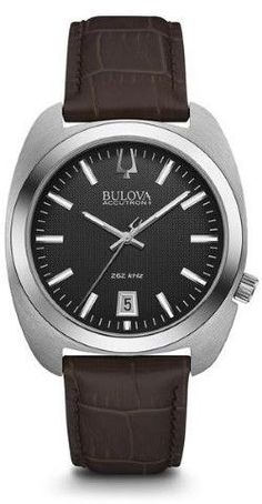 Bulova Accutron II - Surveyor 96B253 Brown/Black Analog Quartz Men's Watch