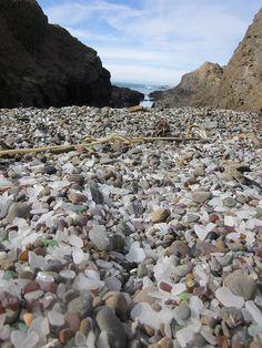 Glass Beach by meganpru, Mendocino County, California.