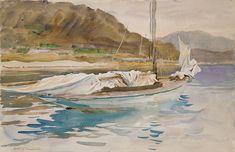 Idle Sails 1913 | John Singer Sargent | Oil Painting