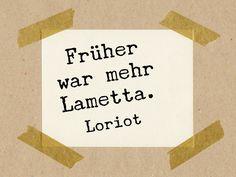 Sprüche  Slogans - Früher war mehr Lametta (Loriot) // Stempel 3x3cm - ein Designerstück von im-wohnzimmer bei DaWanda