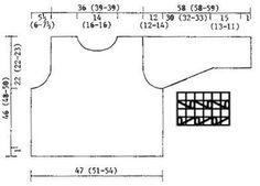 Gebreide DROPS Trui met ajourpatroon van Paris. Maat S - L Gratis patronen van DROPS Design.