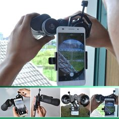 Binocular Cases & Accessories Gosky Quick Cell Phone Adapter Mount Compatible With Binocular Monocular Scope Good Taste