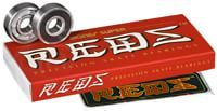 Bones Bearings Super Reds Skateboard Bearings - black