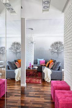 adelaparvu.com despre apartament de trei camere, 55 mp, design interior Aparicium Studio (9)