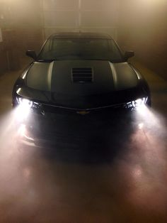 Those lights off the Camaro.....
