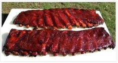St. Louis Ribs and Baby Back Ribs