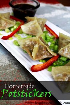 Potstickers Recipe ⋆ Homemade for Elle