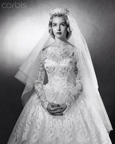 Vintage wedding dress love this