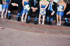 One of the cutest bridesmaids/groomsmen photos I've seen