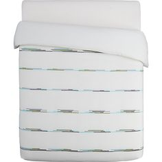 It's time for new bedding again.   Ditto Bed Lines from CB2