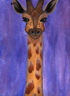 Giraffe - my favorite animal Giraffe Images, Baby Animals, Cute Animals, Spiritual Animal, Soul Art, Art For Art Sake, African Safari, Art Projects, Sewing Projects