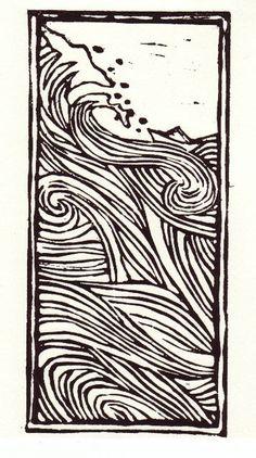 Copy Of Relief Printing With Foam And Lino - Lessons - Tes Teach Linocut Prints, Art Prints, Block Prints, Illustrator, Linoprint, Art Et Illustration, Botanical Illustration, Art Graphique, Art Design