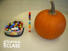 Lots of fall pumpkin activities and pumpkin learning ideas for Kindergarten! Includes anchor chart, measurement, pumpkin life cycle, and lots of fun activities. For Kindergarten and First Grade. Kindergarten Math Activities, Math Literacy, Fun Math, Thanksgiving Activities, Autumn Activities, Fun Activities, Pumpkin Life Cycle, Fall Pumpkins, Rounding