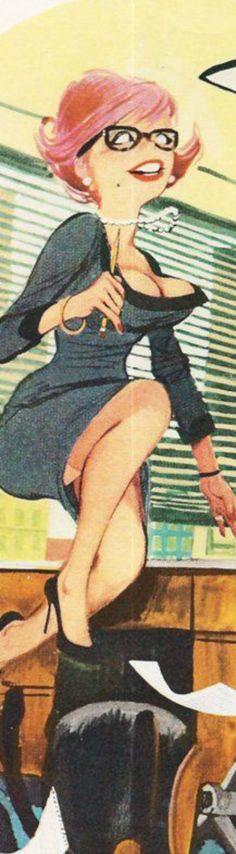 #erichsokol #sokol #playboy #illustrations #women