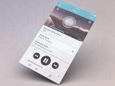 Music App Player UI Concept by LobbyBY