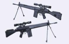 Full Size Heckler & Koch G3/SG1 Rifle Free Gun Paper Model Download - http://www.papercraftsquare.com/full-size-heckler-koch-g3sg1-rifle-free-gun-paper-model-download.html#11, #FullSize, #G3, #HecklerKoch, #HecklerKochG3, #HecklerKochG3SG1, #Rifle, #SniperRifle