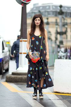 black long dress @roressclothes closet ideas #women fashion outfit #clothing style apparel