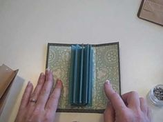 This a different way to bind your mini Albums. See my blog at http:followingthepapertrail.blogspot.com for more info and instructions.