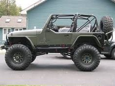 Image result for od green jeep yj