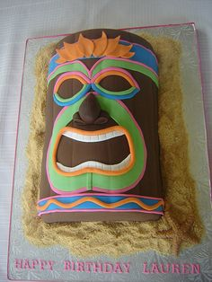 tiki cake by springlakecake, via Flickr