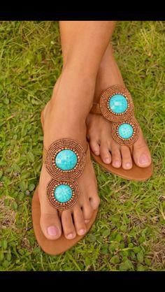 Ibiza Style Slippers