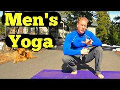 10 Min Yoga for Men Beginner Routine - Easy Men's Yoga Workout - Best Yoga Workout for Dudes - YouTube