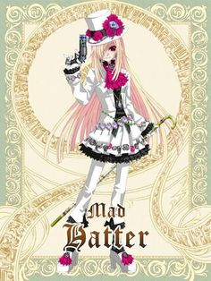 27 Best Anime Mad Hatter Images Wonderland You Are Awesome Alice