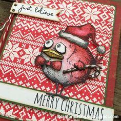 Scrapbook Tendance: Tim Holtz : les Birds Crazy fêtent Noël !