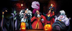Halloween Disney Villains