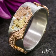 GOLDEN MONKEY AND DRAGON BAND #GreenLakeJewelry