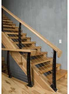 Google Image Result For  Http://cf.ltkcdn.net/interiordesign/images/std/146808 425x413 Stair Railing1  | Stair Rails | Pinterest | Modern Stairs, Railing ...