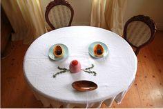 我們看到了。我們是生活@家。: 桌子的表情:)是不是很可愛呢!