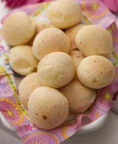 Pão de queijo tradicional de Minas Gerais