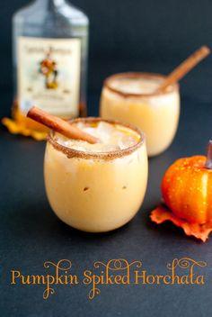 Spiked Pumpkin Spice Horchata-Slim Pickin's Kitchen