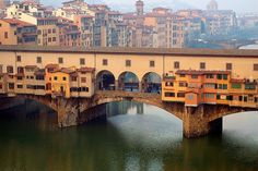 Ponte Vecchio in Florence, Italy (via larryt) Oh The Places You'll Go, Great Places, Places To Travel, Places To Visit, Amazing Places, Travel Destinations, Need A Vacation, Dream Vacations, Around The World In 80 Days