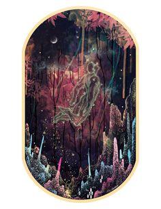 Poetics of Fragility - Night with the fireflies... Artwork by Svabhu Kohli
