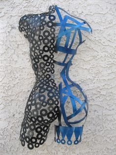 Abstract Free standing Sculpture by Holly Lentz