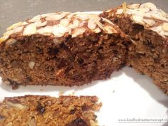 notenbrood met speculaas - koolhydraatarm-recept-05 Healthy Cake, Healthy Baking, Healthy Snacks, Food L, Good Food, Low Carb Recipes, Snack Recipes, Low Carb Crackers, Low Carb Bread