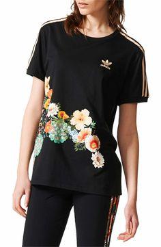 Main Image - adidas Originals Jardim Floral Tee