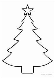 Výsledek obrázku pro vánoční stromek šablona