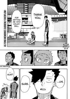 You are reading Haikyuu Chapter 325 in English. Read Chapter 325 of Haikyuu manga online. Haikyuu Manga, Haikyuu Funny, Haikyuu Fanart, Haikyuu Ships, Manga Anime, Tsukiyama Haikyuu, Haikyuu Nekoma, Nishinoya, Oikawa