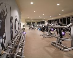 Fitness center wall graphic #stayfitdfw gym interiors commercial gyms studios …
