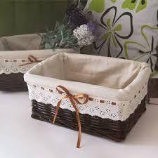 resultado de imagem para cestas de palha decoradas ms