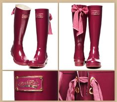 Rain boots Rockfish bow Women rain rubber shoes rainboots Free shipping-inBoots from Shoes on https://Aliexpress.com